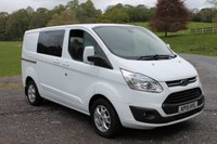 2015 FORD TRANSIT CUSTOM 2.2 290 LIMITED LR DCB 1d 124 BHP £13000.00