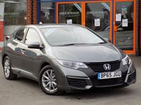 USED 2016 65 HONDA CIVIC 1.6 i-DTEC S 5dr (Nav) ** Sat Nav + Bluetooth **
