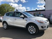USED 2010 10 FORD KUGA 2.0 TDCI TITANIUM 2WD 5d  WITH CLIMATE CONTROL, BLUETOOTH, SAT NAV NO DEPOSIT HP FINANCE ARRANGED , APPLY HERE NOW
