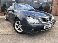 USED 2006 06 MERCEDES-BENZ C CLASS 2.1 C220 CDI SE SPORTS 3d AUTO 148 BHP