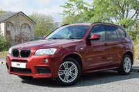USED 2013 13 BMW X3 2.0 XDRIVE20D M SPORT 5d 181 BHP 1 OWNER FROM NEW! FULL SERVICE HISTORY! LEATHER! 2 KEYS!