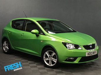 2013 SEAT IBIZA 1.4 TOCA 5d £6500.00
