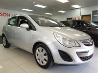 2011 VAUXHALL CORSA 1.2 EXCLUSIV A/C 5d+SERVICE HISTORY+WARRANTY+LOW MILES £SOLD