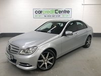 USED 2012 12 MERCEDES-BENZ C CLASS 2.1 C220 CDI BLUEEFFICIENCY EXECUTIVE SE 4d AUTO 168 BHP