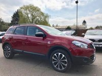 USED 2013 S NISSAN QASHQAI+2 1.6 360 PLUS 2 5d WITH SAT NAV, REVERSING CAMERA NO DEPOSIT ECP/HP FINANCE ARRANGED, APPLY HERE NOW