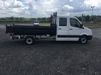 USED 2015 65 VOLKSWAGEN CRAFTER CR 35 2.0 TDI 109 CREW CAB TIPPER