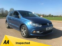 USED 2017 67 VOLKSWAGEN POLO 1.2 MATCH EDITION TSI DSG 5d AUTO 89 BHP