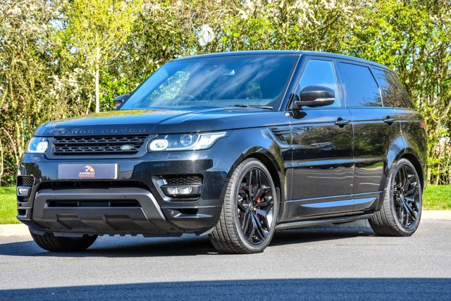 2016 66 LAND ROVER RANGE ROVER SPORT 3.0 SDV6 AUTOBIOGRAPHY DYNAMIC 5d AUTO 306 BHP