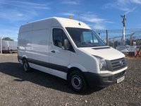 2015 VOLKSWAGEN CRAFTER CR35 2.0 TDI 136 MWB HIGH ROOF PANEL VAN £8495.00