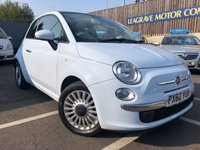 USED 2010 60 FIAT 500 1.2 LOUNGE 3d 69 BHP ONLY TWO PREVIOUS OWNERS