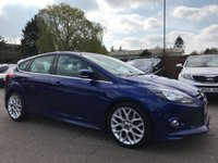 USED 2014 64 FORD FOCUS 1.6 TDCI ZETEC S 5d  WITH BLUETOOTH, SAT NAV UPGRADED ALLOYS NO DEPOSIT ECP/HP FINANCE ARRANGED, APPLY HERE NOW