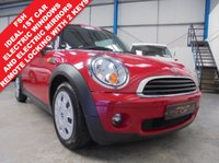 USED 2010 10 MINI HATCH FIRST 1.4 FIRST 3d 75 BHP Full Service History, CD/Radio/Aux, Electric Windows, Electric Mirrors, Remote Central Locking with 2 Keys, Stop Start, Digital Stability Control, Tyre Pressure Sensors