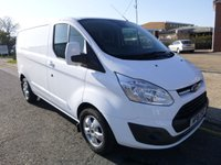 USED 2018 18 FORD TRANSIT CUSTOM 290 L1 Limited 130ps