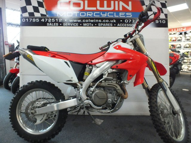 View our HONDA CRF450X