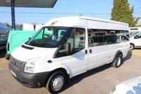 2014 FORD TRANSIT 2.2 430 SHR BUS 17 STR 1d 134 BHP £11495.00