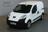 USED 2014 64 PEUGEOT BIPPER 1.2 HDI PROFESSIONAL 75 BHP AIR CON SWB VAN AIR CONDITIONING FULL S/H