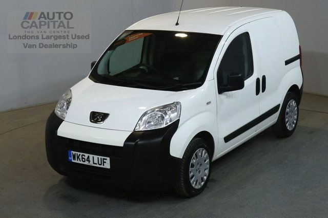 2014 64 PEUGEOT BIPPER 1.2 HDI PROFESSIONAL 75 BHP AIR CON SWB VAN AIR CONDITIONING FULL S/H