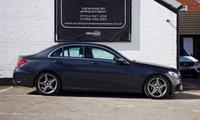 USED 2016 66 MERCEDES-BENZ C CLASS 1.6 C200 D AMG LINE 4d AUTO 136 BHP