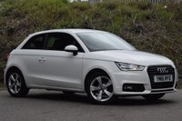 USED 2016 16 AUDI A1 1.0 TFSI SPORT 3d 93 BHP STUNNING GLACIER WHITE PAINT WORK, ALLOY WHEELS, AIR CONDITIONING, CD, ALLOY WHEELS, AIR CONDITIONING, CD, ALLOY WHEELS, MULTI MEDIA, USB, ETC, VERY LOW MILEAGE, 1 OWNER, STUNNING CAR
