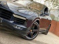 USED 2017 66 PORSCHE CAYENNE 4.8 Turbo S Tiptronic S AWD 5dr VAT Q -REAR SEAT ENTERTAINMENT