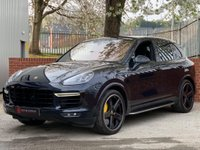 USED 2017 66 PORSCHE CAYENNE 4.8 Turbo S Tiptronic S AWD 5dr VAT Q -REAR SEAT ENTERTAINMENT