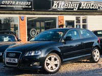 USED 2008 58 AUDI A3 1.6 MPI SPORT 1 OWNER FROM NEW