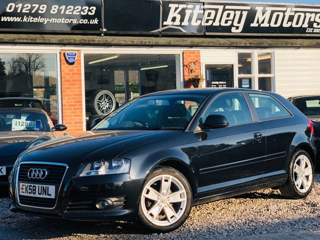 2008 58 AUDI A3 1.6 MPI SPORT 1 OWNER FROM NEW