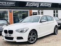 USED 2014 14 BMW 1 SERIES M135i 3.0 Manual Media Package & Leather