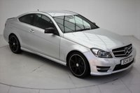 USED 2014 14 MERCEDES-BENZ C CLASS 1.6 C180 AMG SPORT EDITION 2d AUTO 154 BHP
