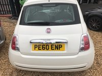 USED 2010 60 FIAT 500 1.2 POP 3d 69 BHP ONE OWNER PLUS DEMO: