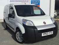 USED 2013 63 FIAT FIORINO 1.2 16V MULTIJET Great Value Panel Van with High 60mpg and Low Road Tax **PERFECT WORK VAN**