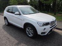 2015 BMW X3 2.0 XDRIVE20D XLINE 5d AUTO 188 BHP. ULEZ COMPLIANT. EURO 6 £14990.00