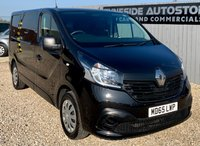 2015 RENAULT TRAFIC 1.6 SL27 BUSINESS DCI S/R P/V 1d 115 BHP £7999.00