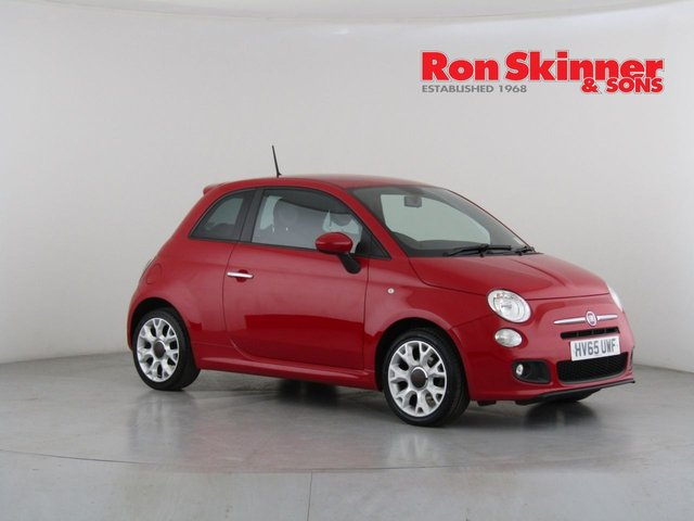 View our 2015 65 FIAT 500 1.2 S 3d 69 BHP