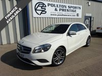 USED 2014 14 MERCEDES-BENZ A CLASS 1.5 A180 CDI BLUEEFFICIENCY SPORT 5d 109 BHP + FULL LEATHER +