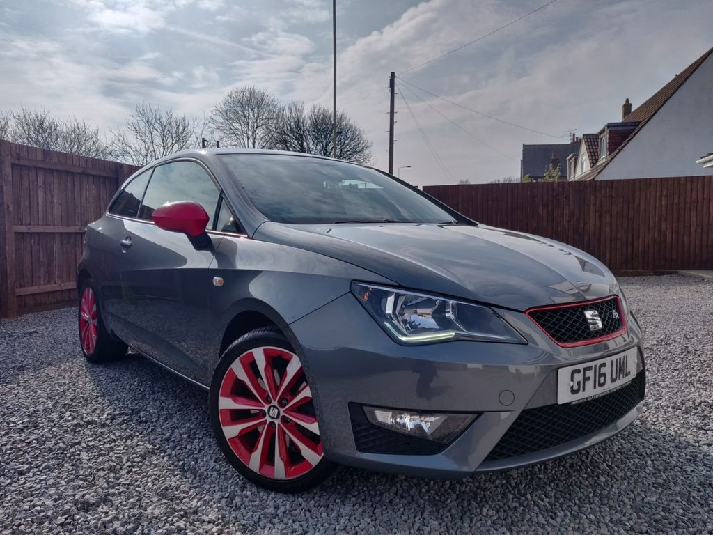Inteligentny 2016 Seat Ibiza TSI FR Red Edition Technology £6,995 FZ96