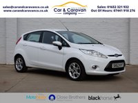USED 2012 05 FORD FIESTA 1.4 ZETEC TDCI 5d 69 BHP Service History A/C Bluetooth Buy Now, Pay Later Finance!