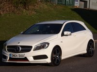 2014 MERCEDES-BENZ A CLASS 2.0 A250 BLUEEFFICIENCY ENGINEERED BY AMG 5d AUTO 211 BHP £17295.00