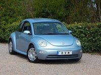 2004 VOLKSWAGEN BEETLE 1.6 8V 3d 101 BHP £1970.00