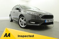USED 2016 16 FORD FOCUS 1.5 ZETEC TDCI 5d 118 BHP Rear Privacy Glass- Bluetooth