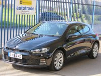 USED 2016 16 VOLKSWAGEN SCIROCCO 2.0 TDI BLUEMOTION TECHNOLOGY DSG 2d AUTO Bluetooth DAB Finance arranged Part exchange available Open 7 days
