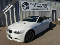USED 2009 09 BMW M3 4.0 M3 2d AUTO 414 BHP + CONVERTIBLE + FSH + S STEEL EXHAUST