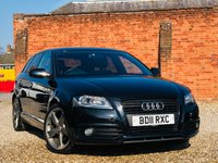 USED 2011 11 AUDI A3 2.0 SPORTBACK TDI S LINE 140BHP SPECIAL EDITION 5 Door