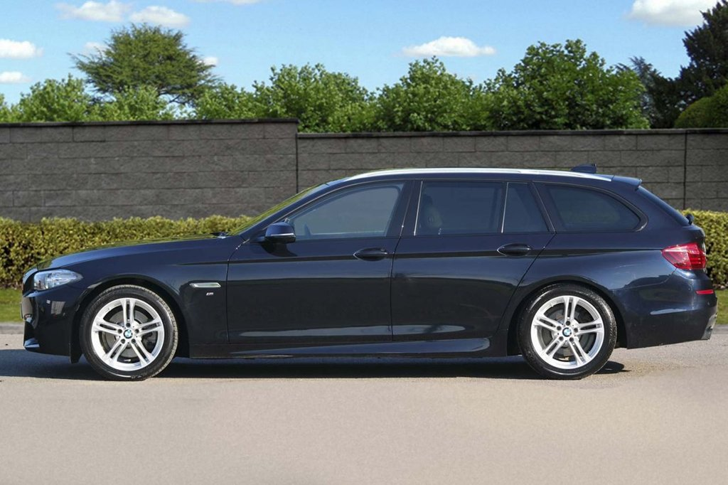 USED 2016 16 BMW 5 SERIES 2.0 520D M SPORT TOURING 190 Auto NAV Pro Media FBMWSH Exceptional Condition FBMWSH