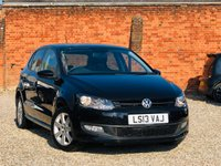 USED 2013 13 VOLKSWAGEN POLO 1.2 MATCH 5 Door 60bhp
