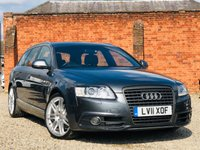 USED 2011 11 AUDI A6 2.0 AVANT TDI S LINE SPECIAL EDITION 170bhp