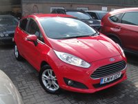 USED 2014 14 FORD FIESTA 1.0 ZETEC 5d 99 BHP ANY PART EXCHANGE WELCOME, COUNTRY WIDE DELIVERY ARRANGED, HUGE SPEC