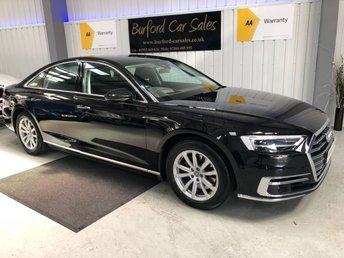 2018 AUDI A8 3.0 TDI QUATTRO 4d AUTO 282 BHP £39990.00