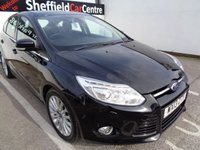 USED 2013 13 FORD FOCUS 1.6 TITANIUM X TDCI 5d 113 BHP £160 A MONTH CLIMATE CONTROL ALLOYS HALF LEATHER PARKING SENSORS SUPPLIED WITH SERVICE AND MOT SOUGHT AFTER MODEL