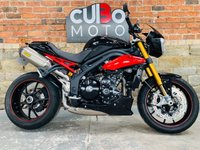 USED 2014 14 TRIUMPH SPEED TRIPLE 1050 R ABS  Arrow Exhausts